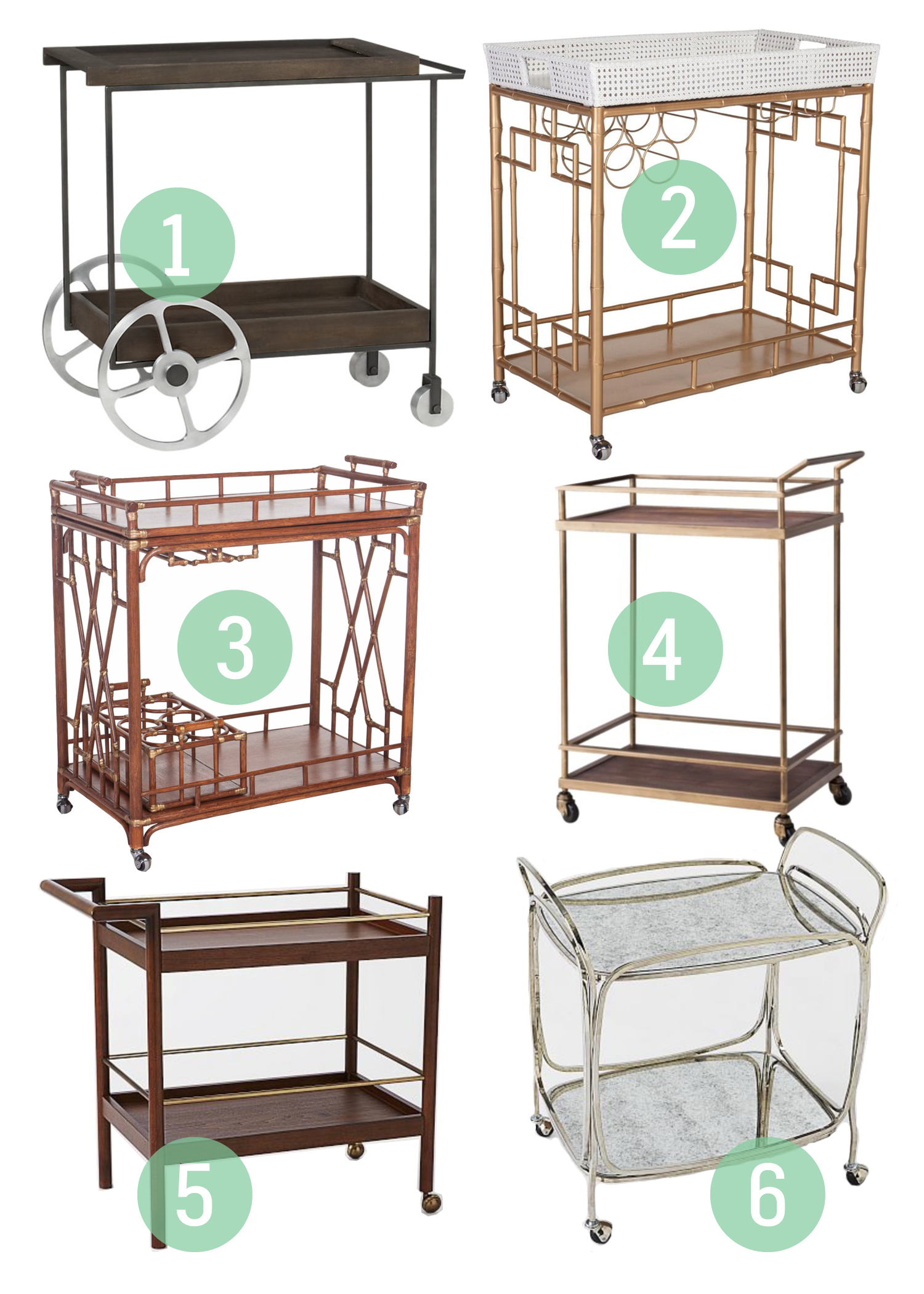 Thursday Lusting: Bar Carts